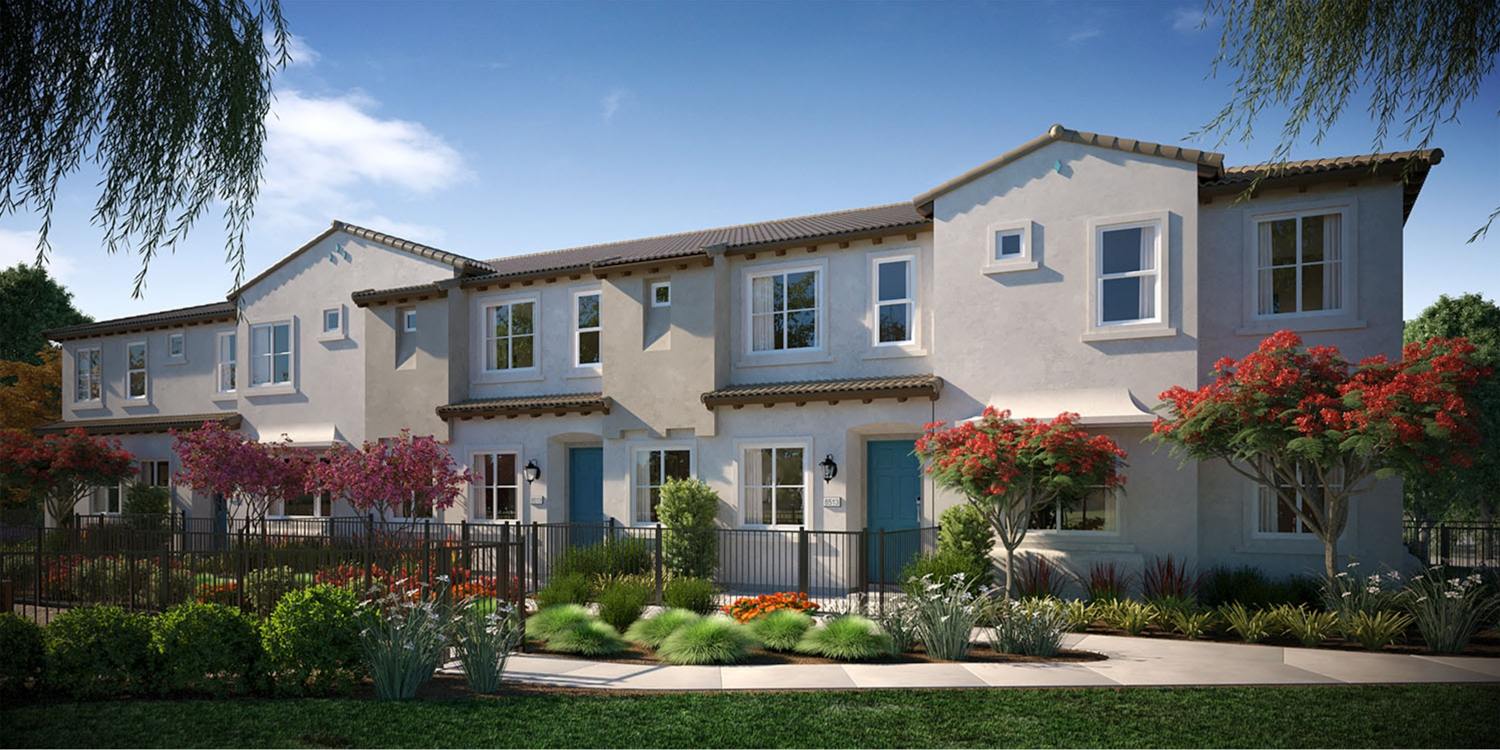 NUVO Artisan Square rendering of five-plex, image courtesy NWHM