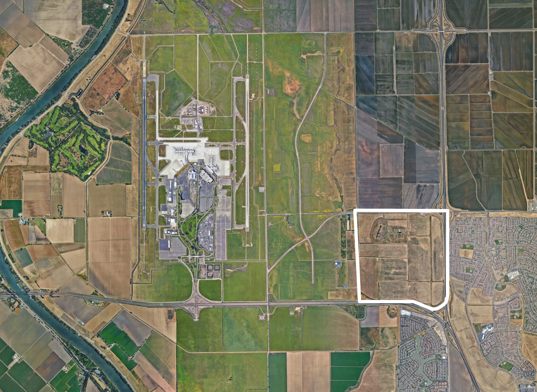 Northlake Development beside the Sacramento International Airport, image via Google Satellite