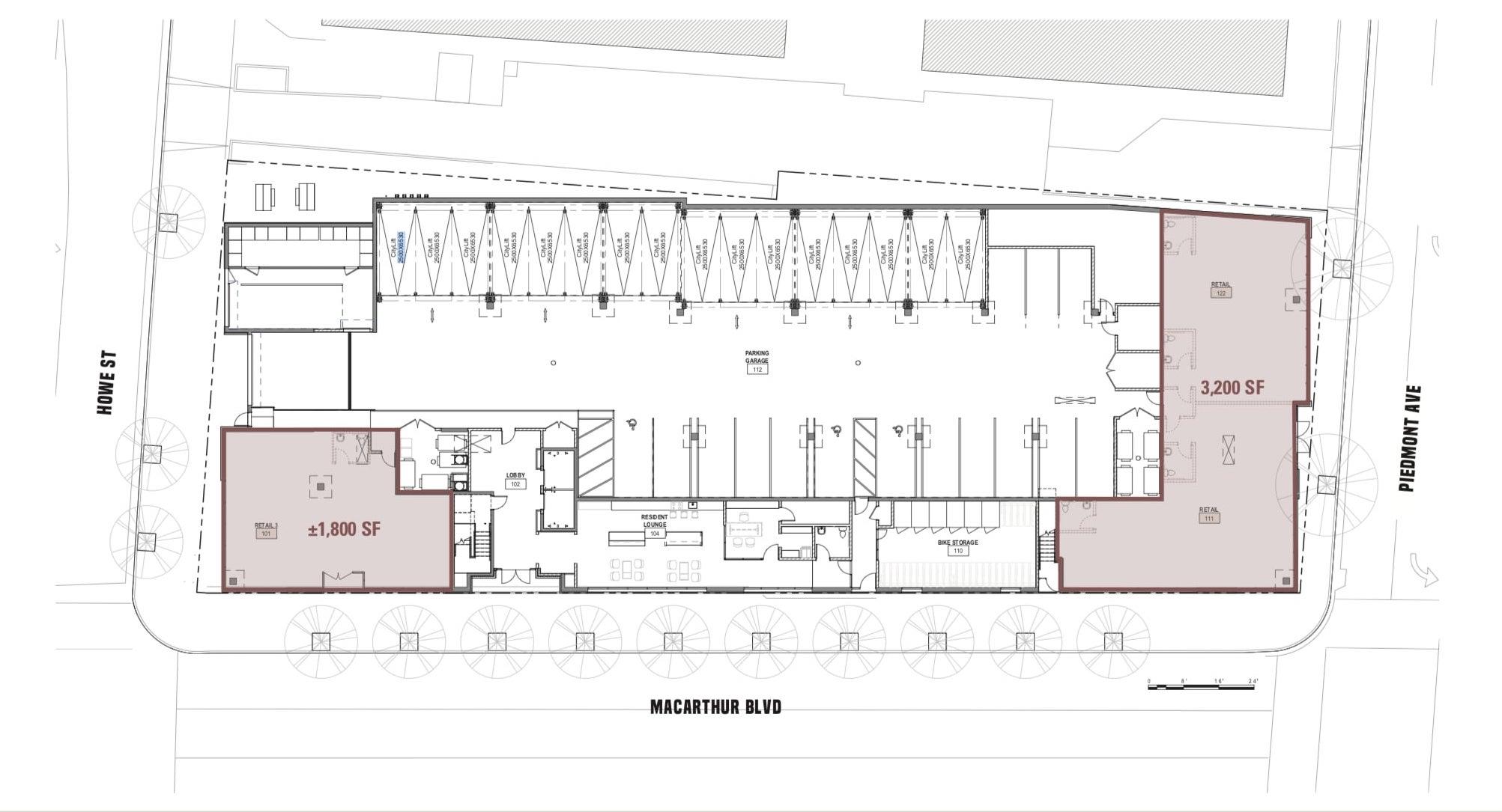 One Piedmont Floor Plan