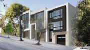 1043-1045 Clayton Street, rendering by Schaub Ly Architects