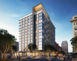 1116 9th Street, rendering by WATG