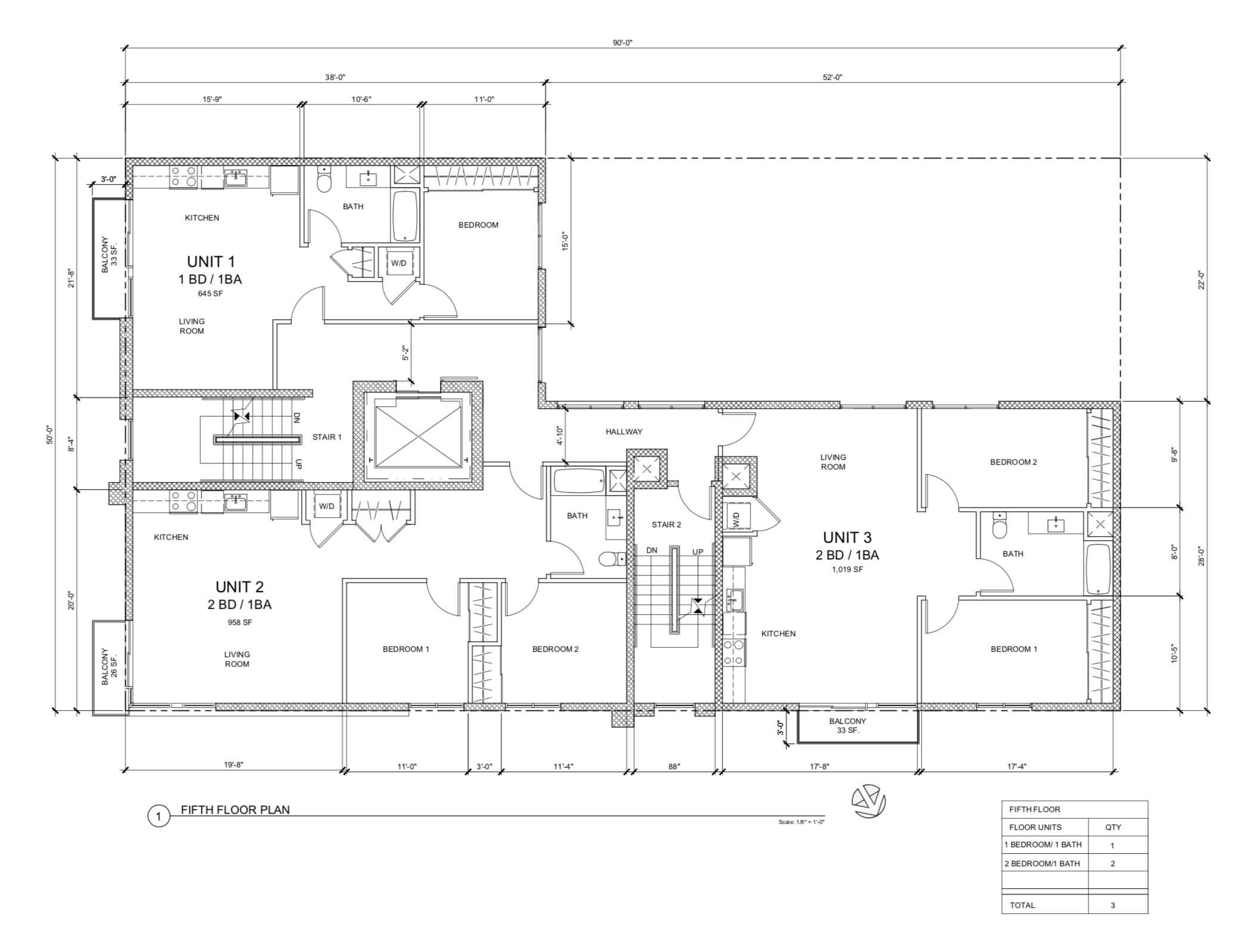 1204 Howard Street Fifth Floor Plan