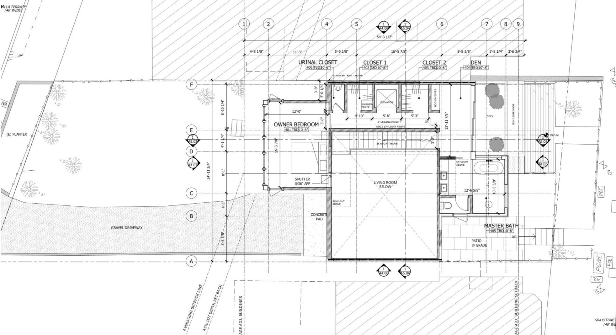 135 Graystone Terrace Fourth Floor Plan