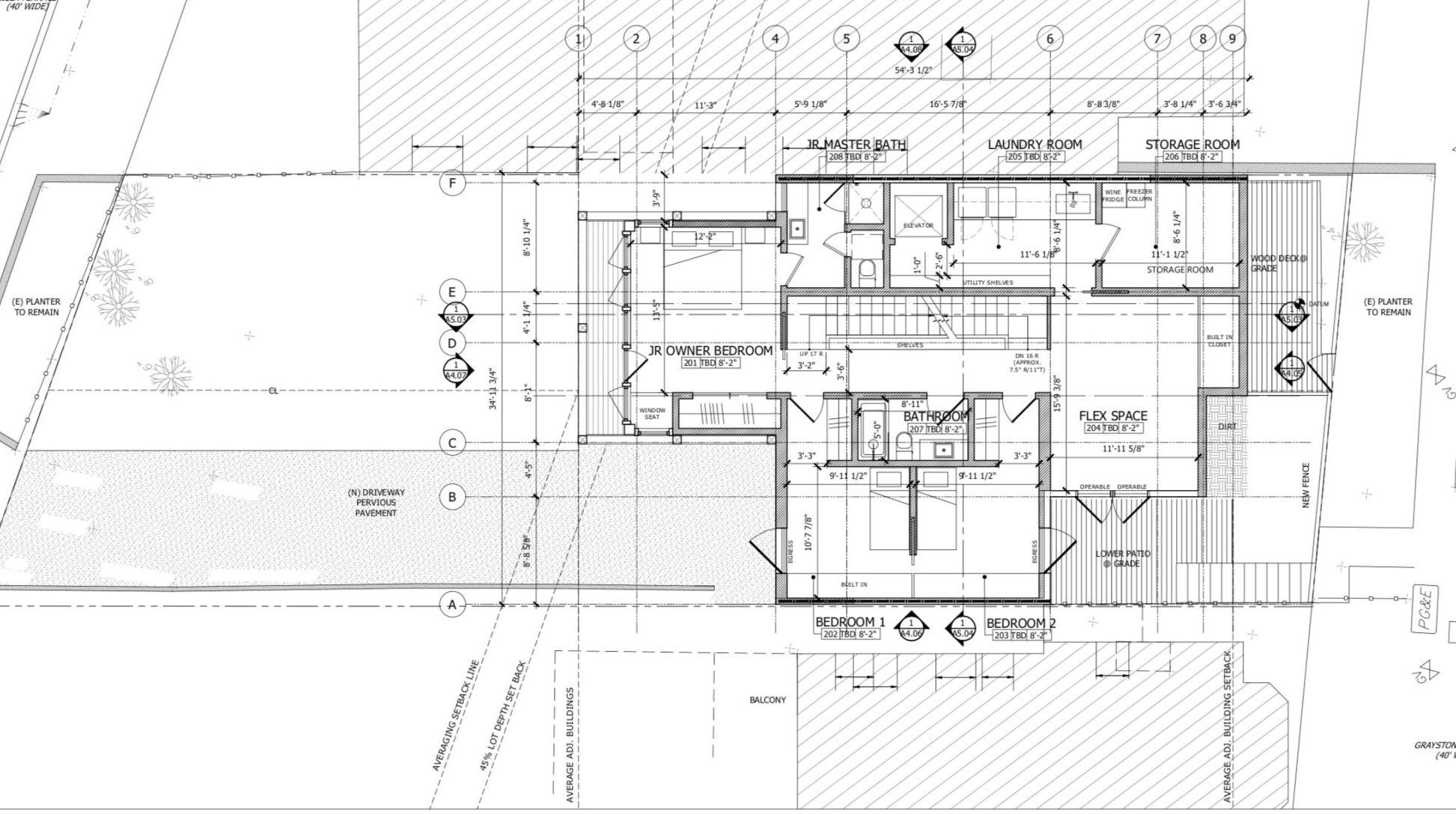 135 Graystone Terrace Second Floor Plan