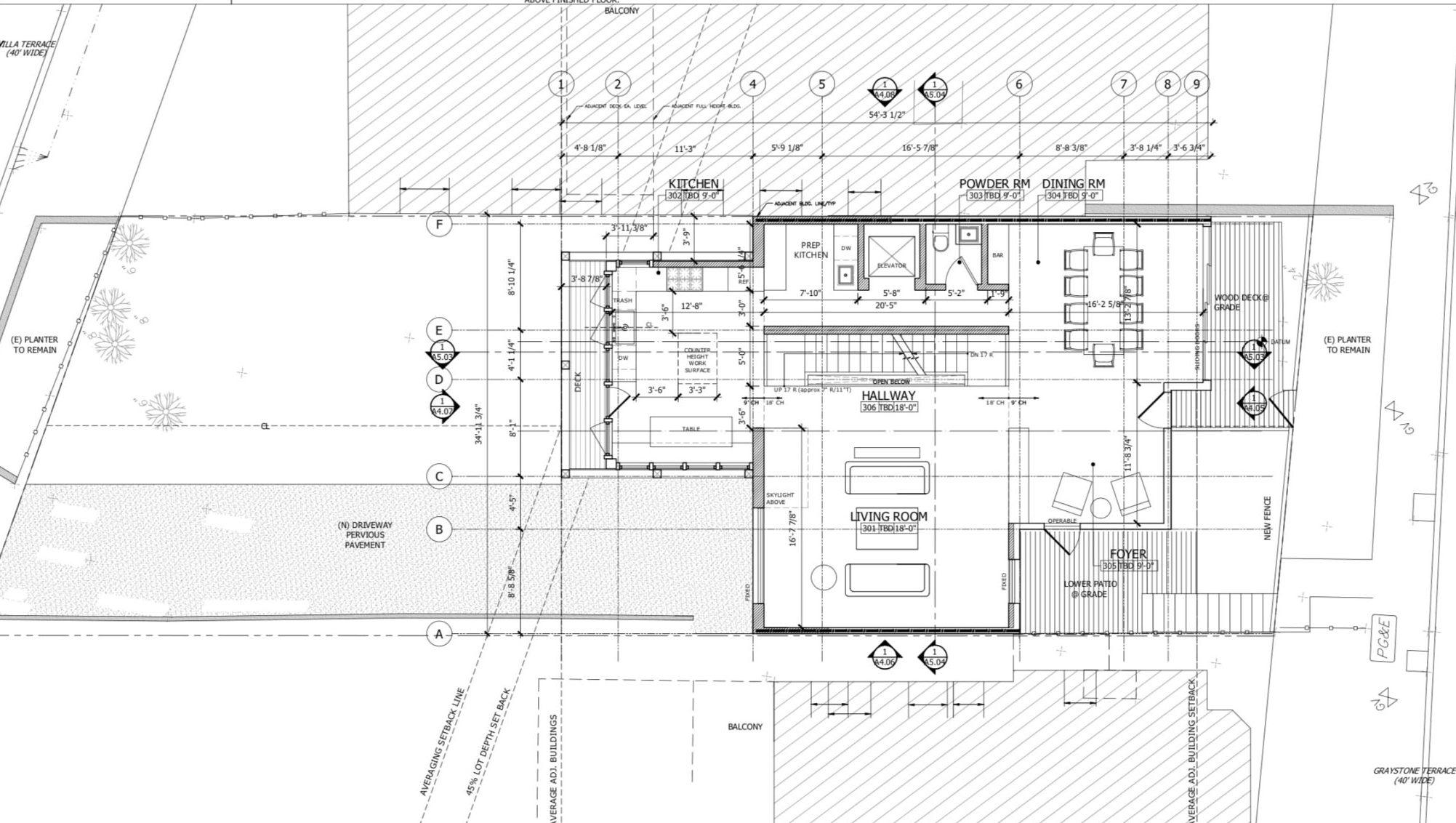 135 Graystone Terrace Third Floor Plan