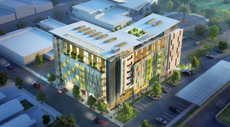 21 North 21st Street, rendering courtesy First Community Housing