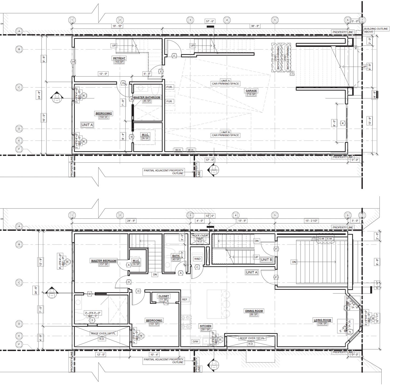 217 Hugo Street, floor plan by Ice Design Inc