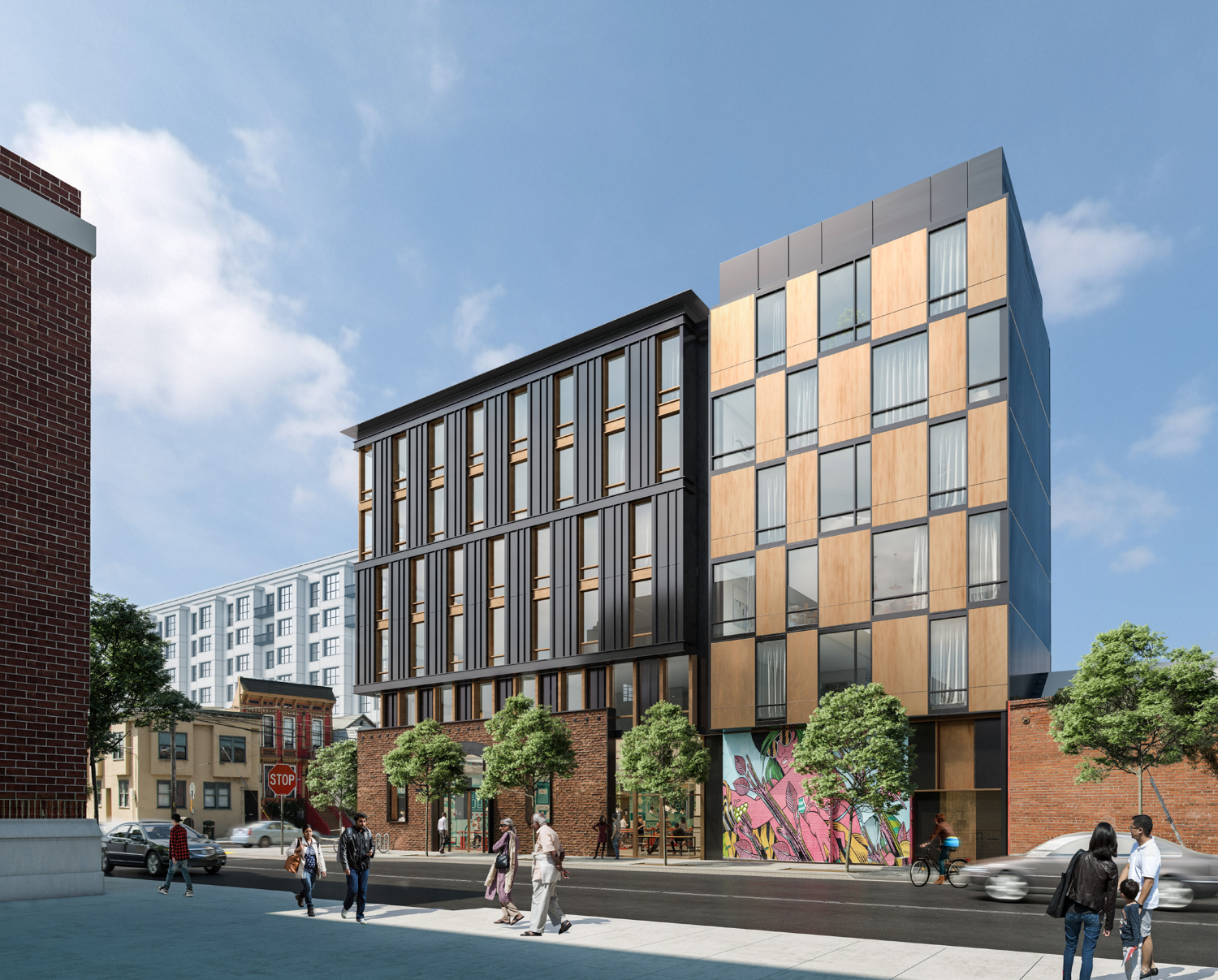 2750 19th Street, rendering by Perry Architects