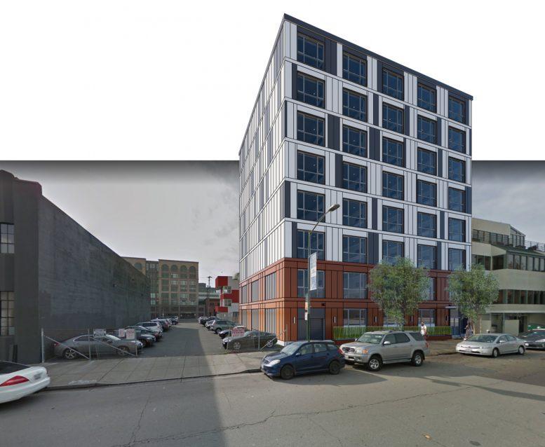 335 3rd Street, rendering by R2 Building