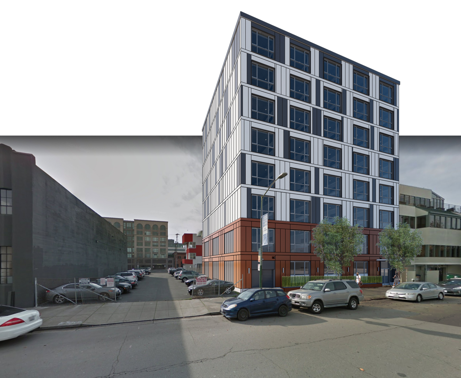 335 3rd Street, rendering by R2 Building