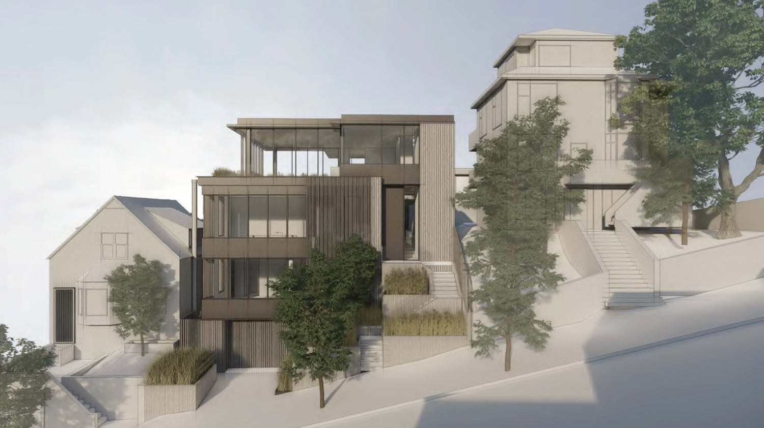 3669 21st Street, rendering by John Maniscalco Architecture