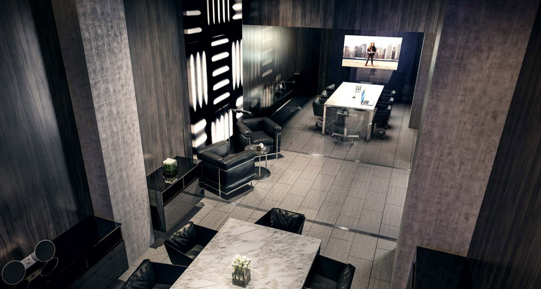 45 Lansing meeting room, image courtesy Rent Jasper