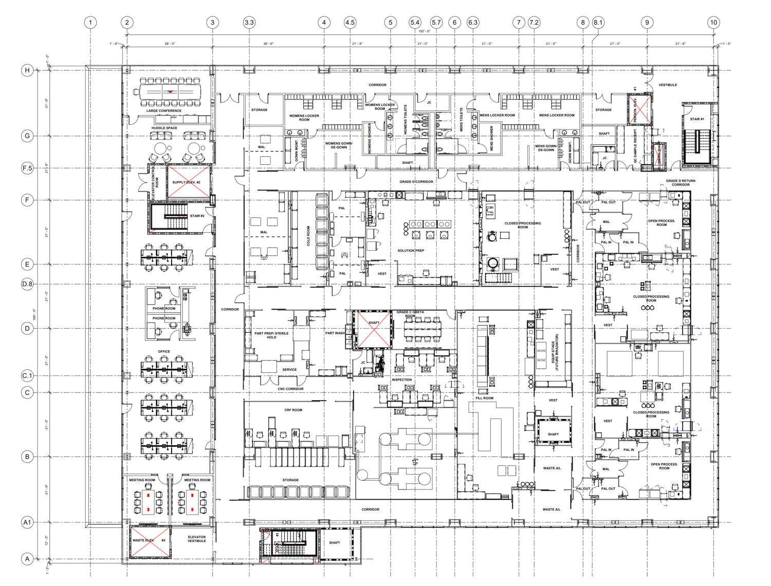 800 Dwight Way third floor office plan, drawing courtesy Bayer