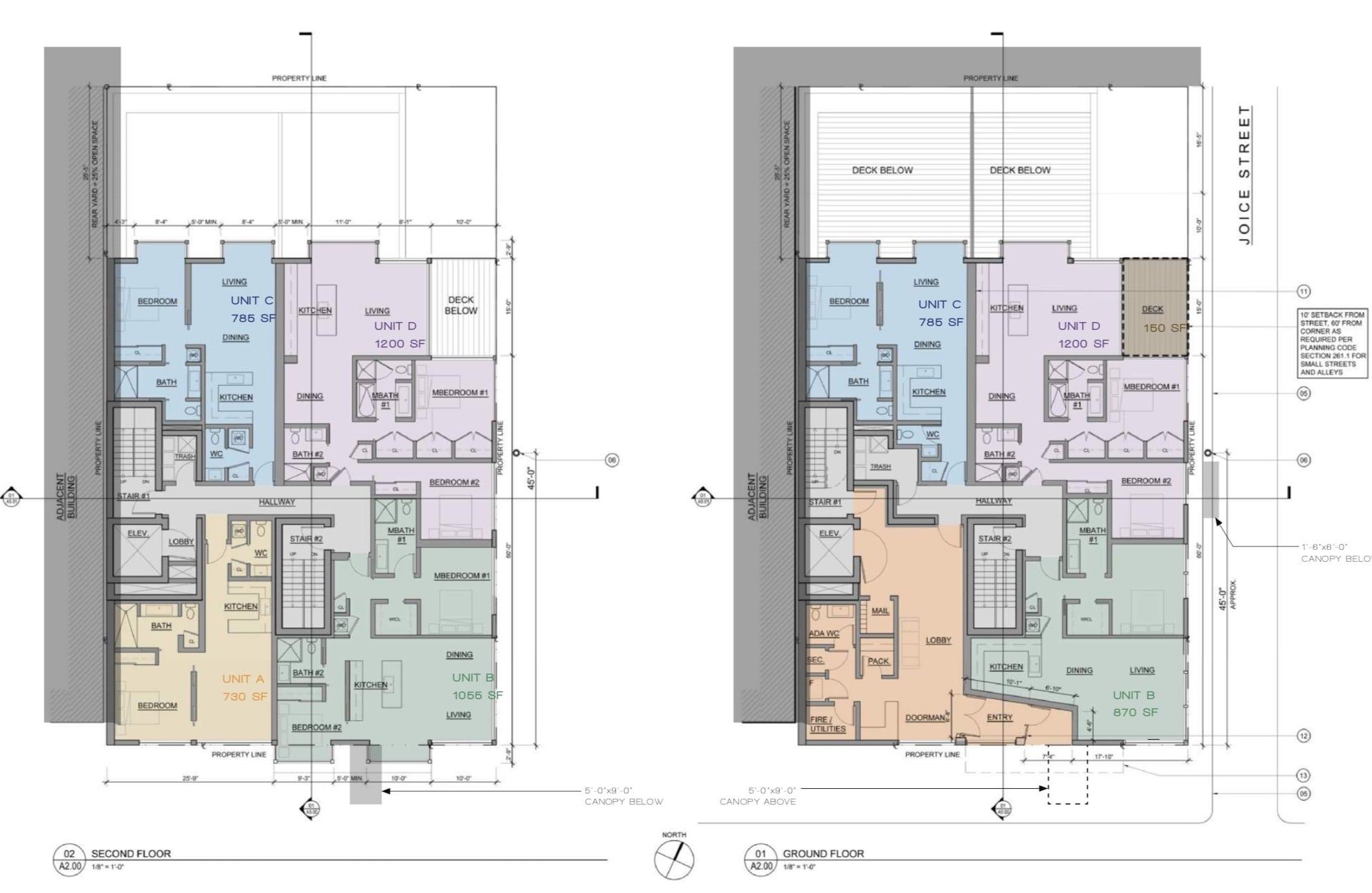 842 California St Floor Plans