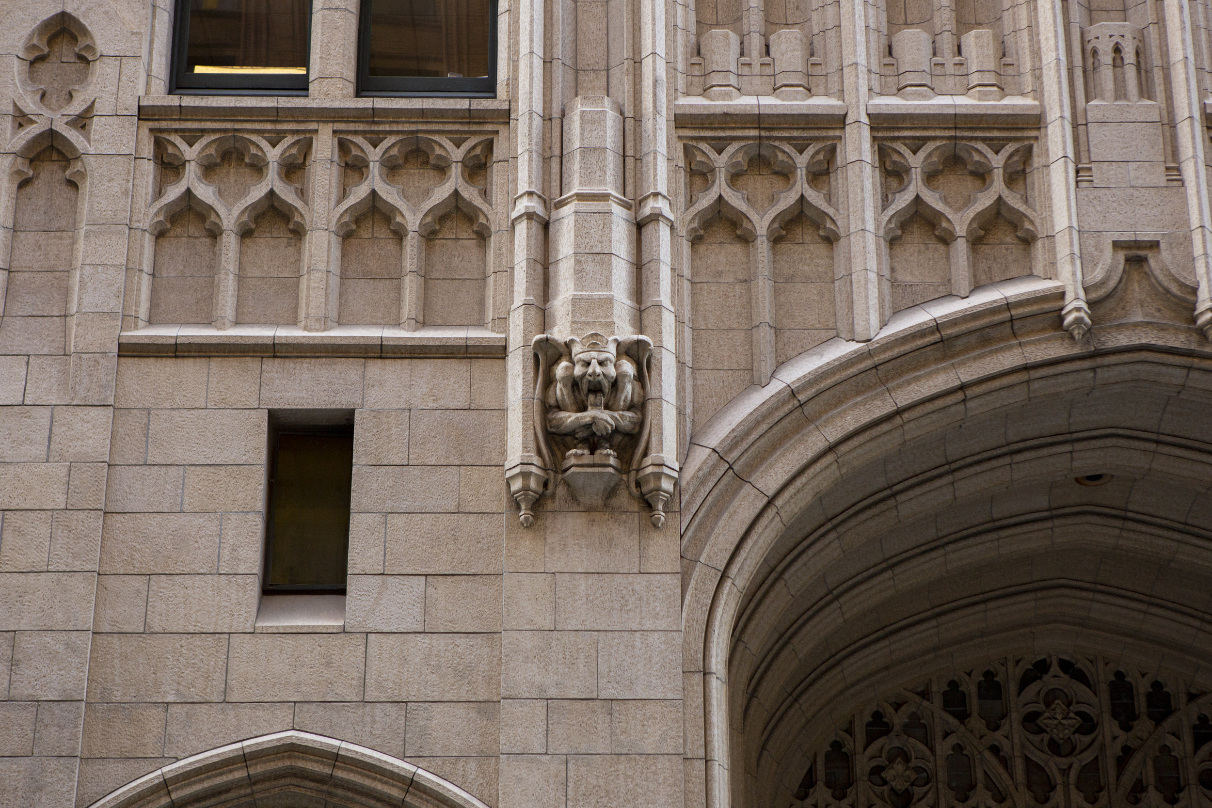 The Russ Building at 235 Montgomery Street terracotta ornamentation, image by Andrew Campbell Nelson