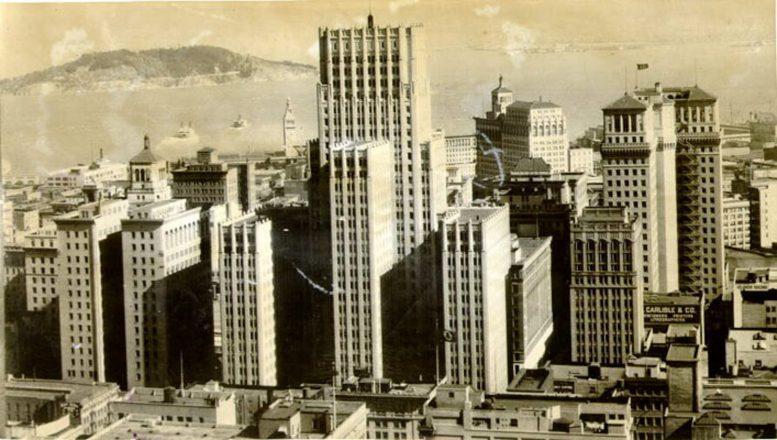 The Russ Building, image via San Francisco Public Library's public catalog