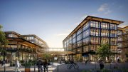 Willow Village office structure, rendering courtesy Facebook and Signature Development Group