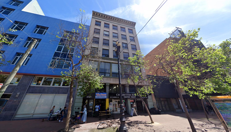 1049 Market Street, image via Google Street View
