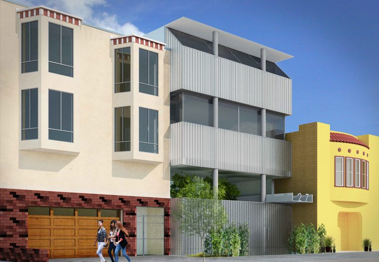 1271 46th Avenue, rendering by Stanley Saitowitz Architects