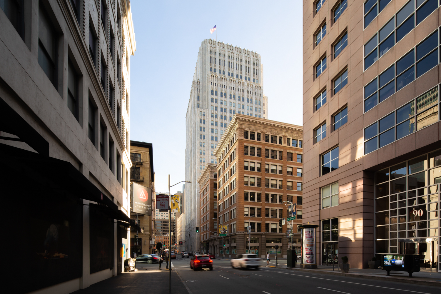 140 New Montgomery Street, image by Andrew Campbell Nelson
