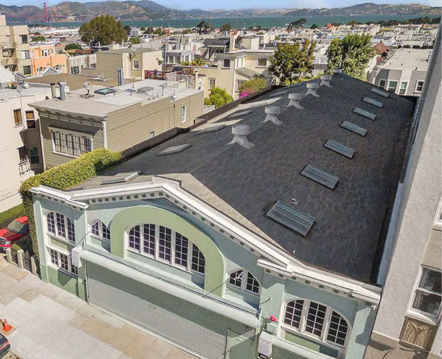 1776 Green Street existing structure, image via Sutro Architects