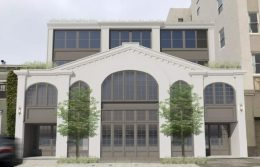 1776 Green Street front view, rendering by Sutro Architects