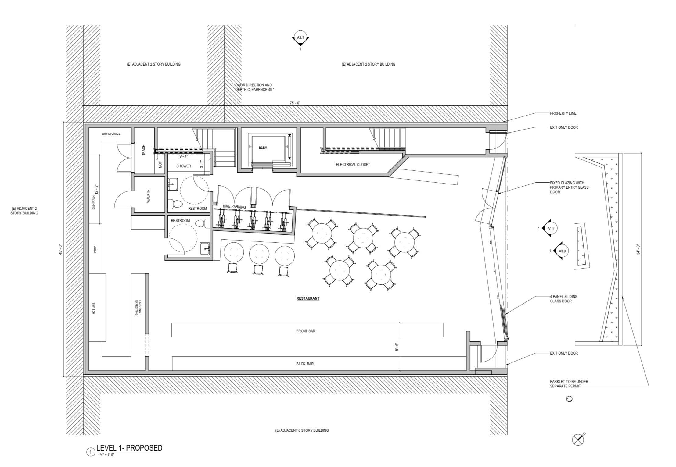 212 Ritch Street First Floor Plan