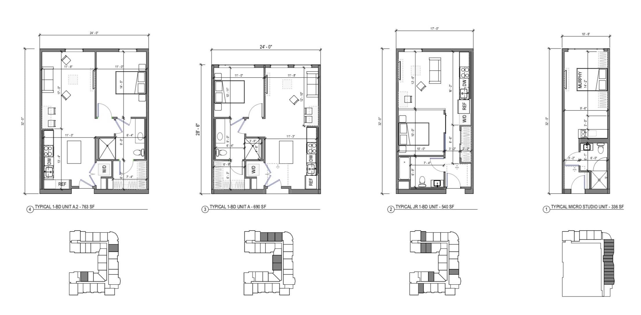 2225 Calle De Luna and 2232 Calle Del Mundo Unit Plans