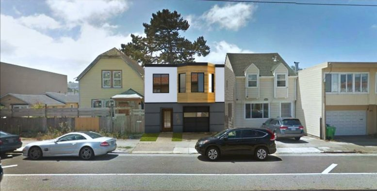 239 Broad Street Proposed Elevation