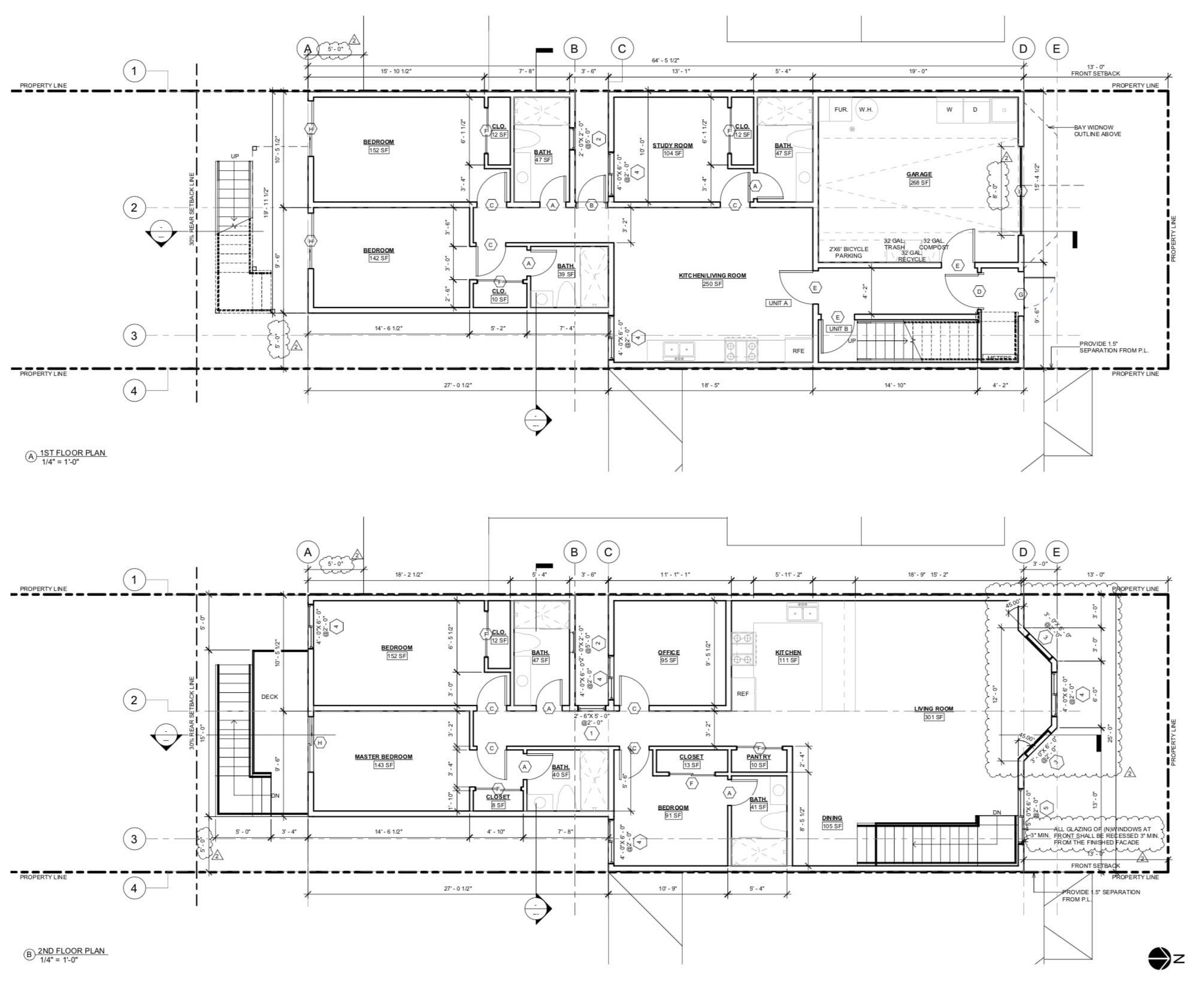 239 Broad Street, Floor Plans