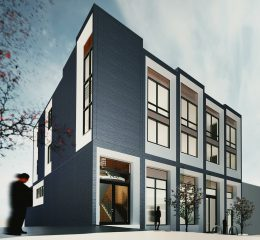 2453 Sacramento Street, rendering by Thousand Architects