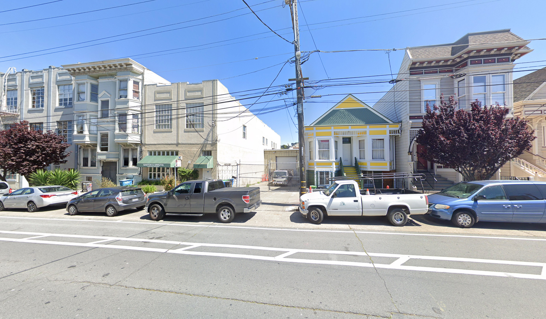 2455 Harrison Street, image from Google Street View