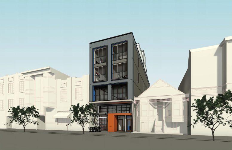 2455 Harrison Street, rendering by Kerman Morris Architects