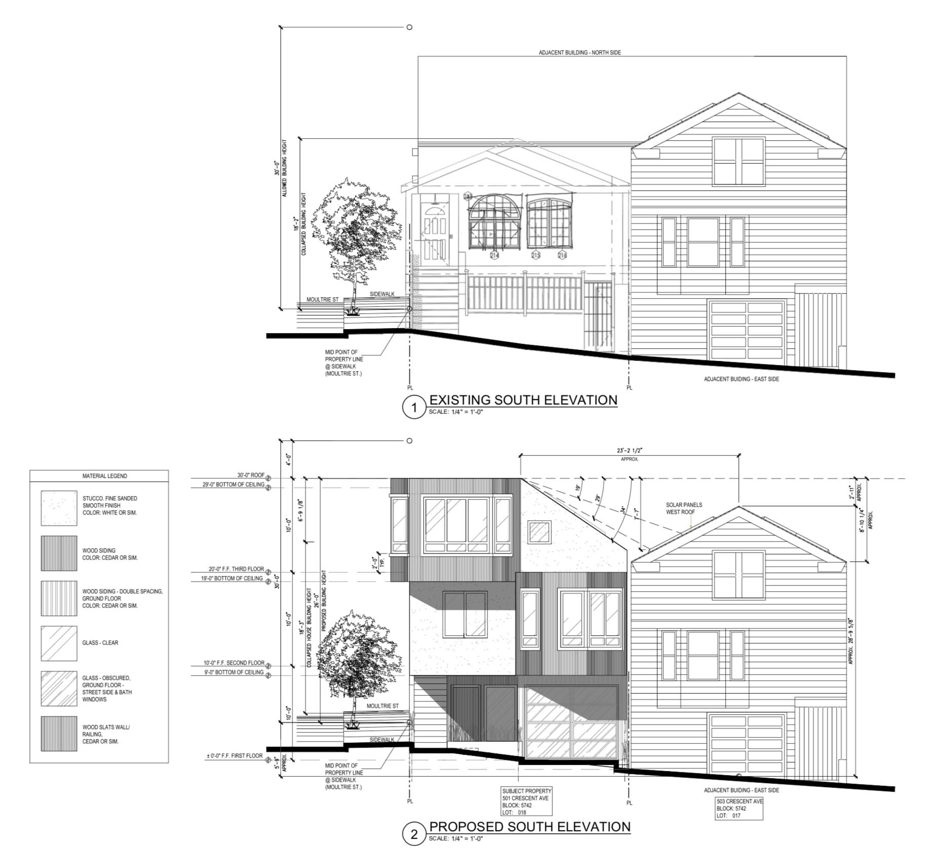 501 Crescent Avenue South Elevations via CityDot Studio