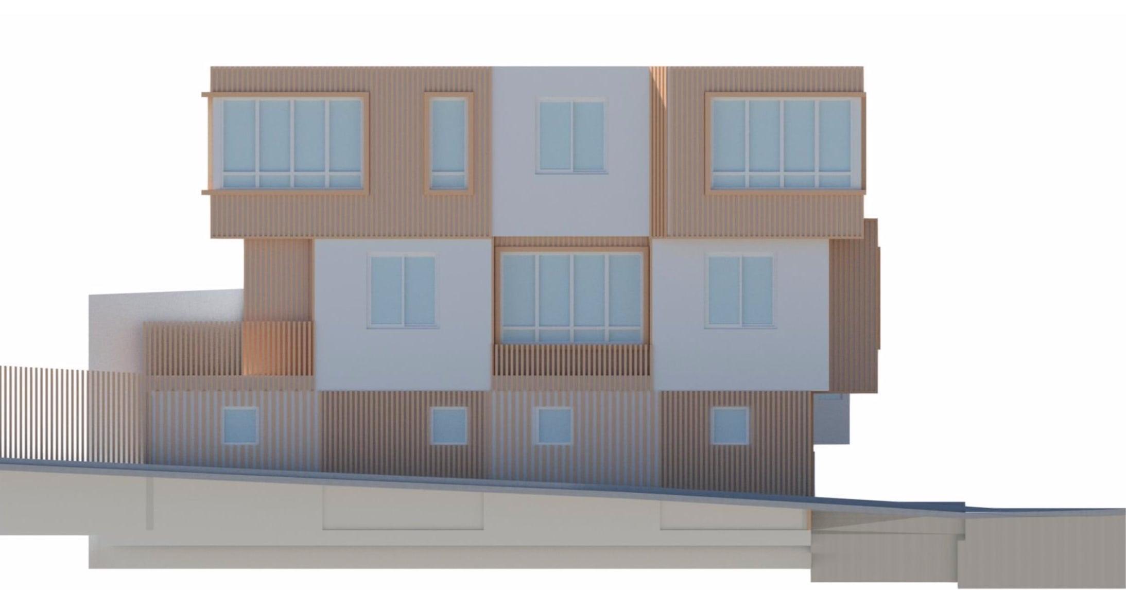 501 Crescent Avenue 3D View via CityDot Studio