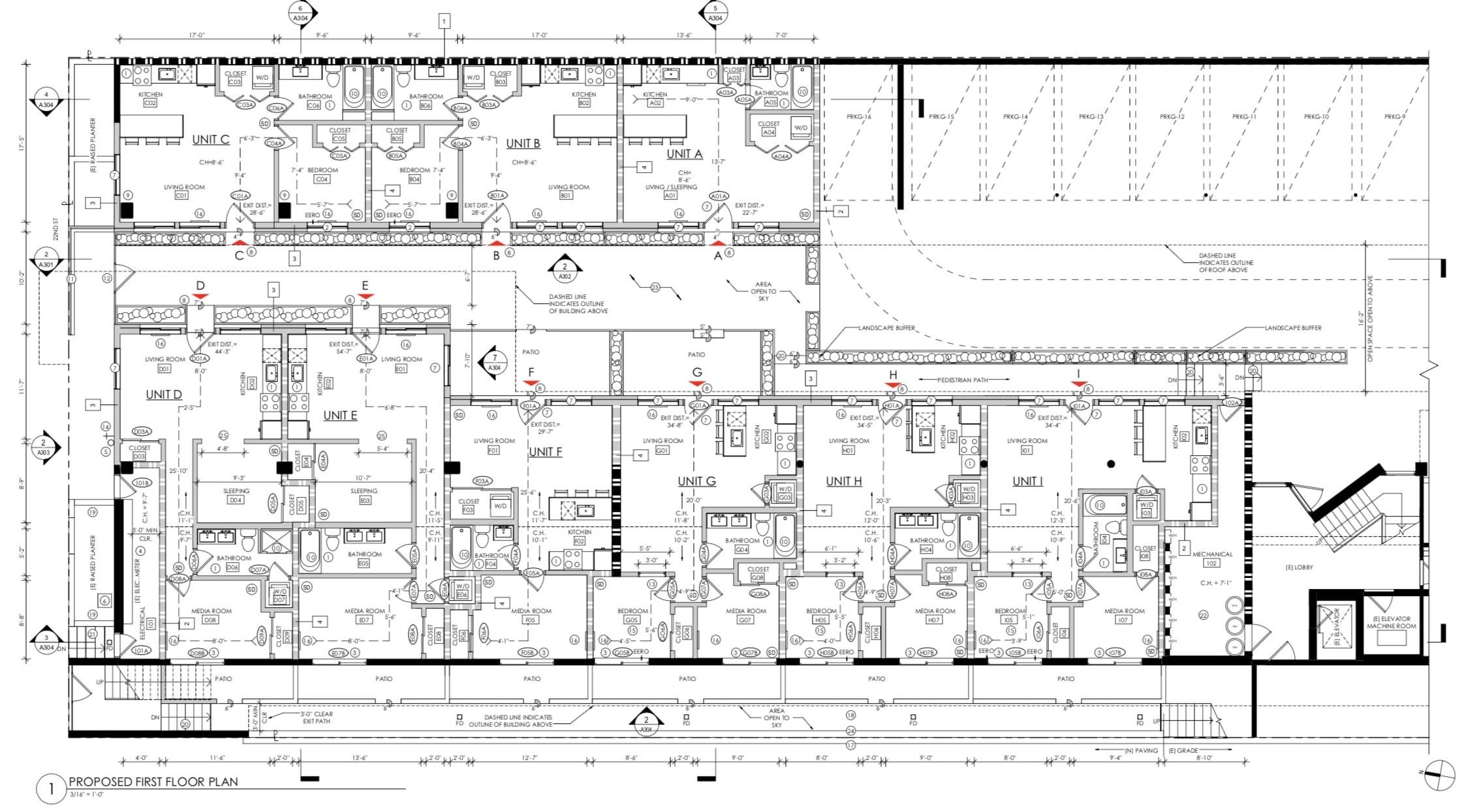 642 Alvarado Street First FLoor Plan