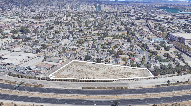 801 Pine Street, image via Google Satellite