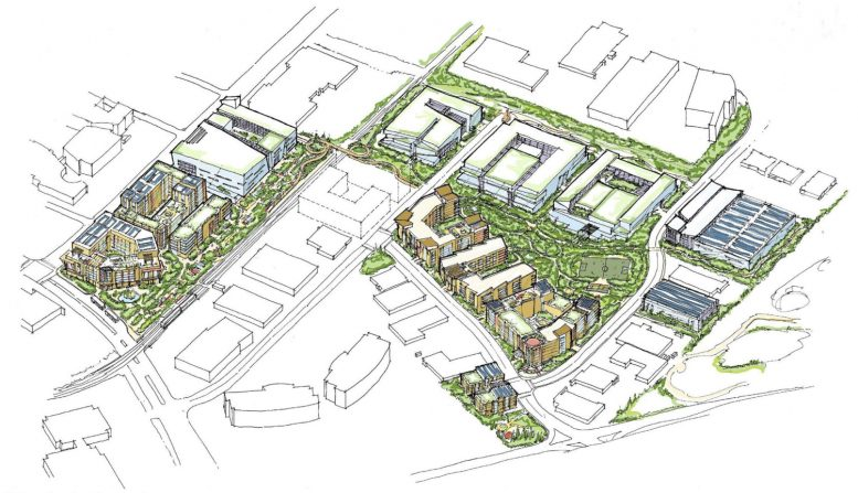 Google Middlefield Park plan, image courtesy Google