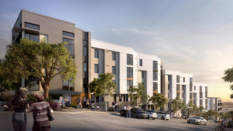 Potrero Hill Block B Along Arkansas Street, design by HKIT Architects and Y.A. Studio