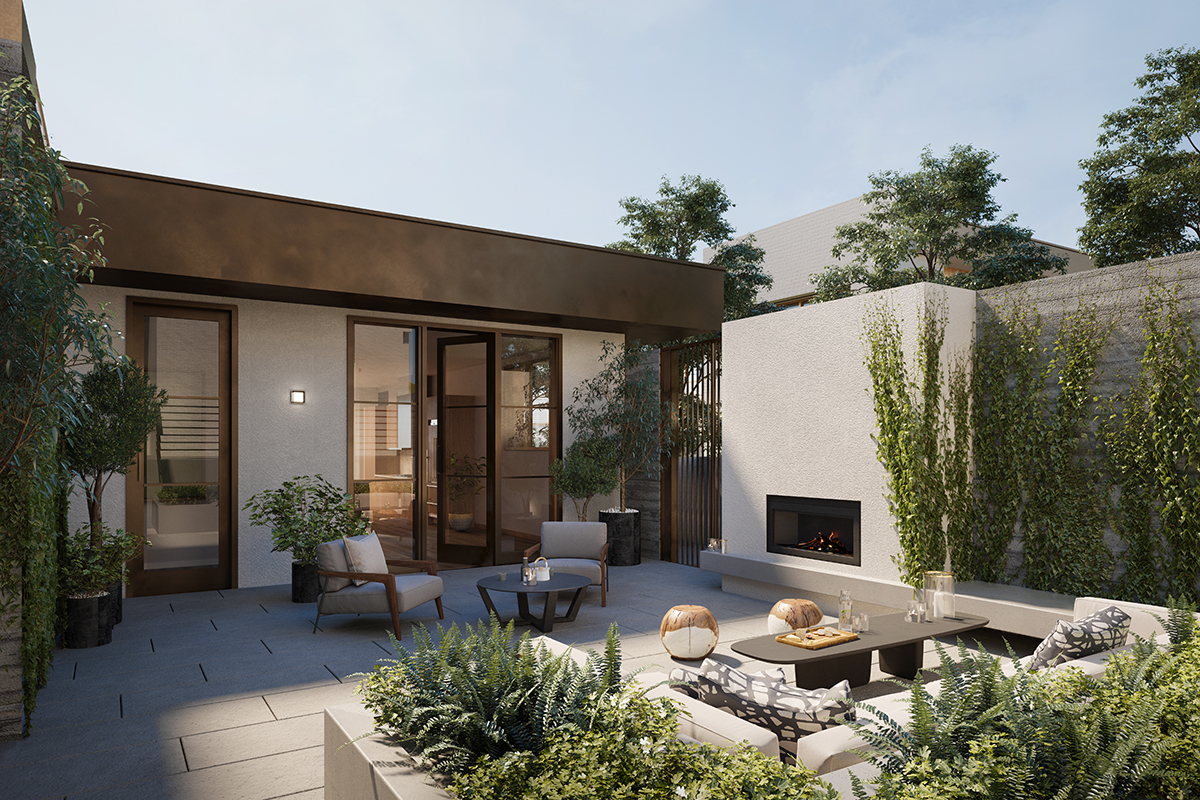 The Courtyard Townhomes