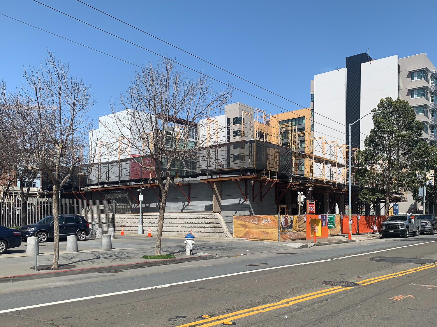 1064-1068 Mission Street construction, image from SFYIMBY Reader