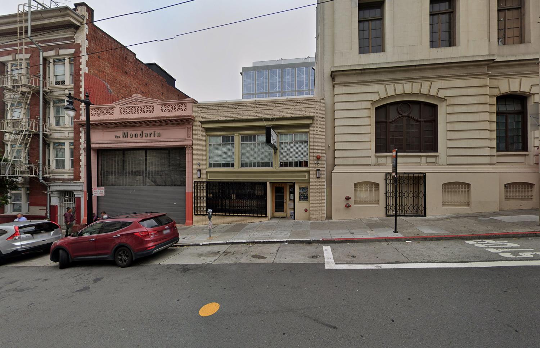 1161 Post Street, image via Google Street View