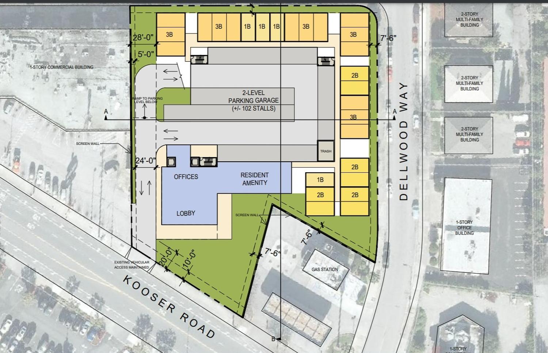 1371 Kooser Road residential proposal, image via Bay Area News Group