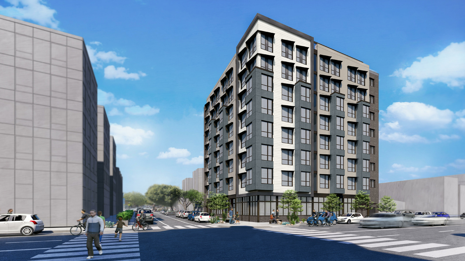 1500 15th Street ground view, rendering by Prime Design