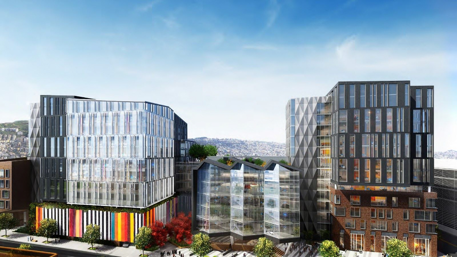 1800 Owens Street rendering, design by Flad Architects