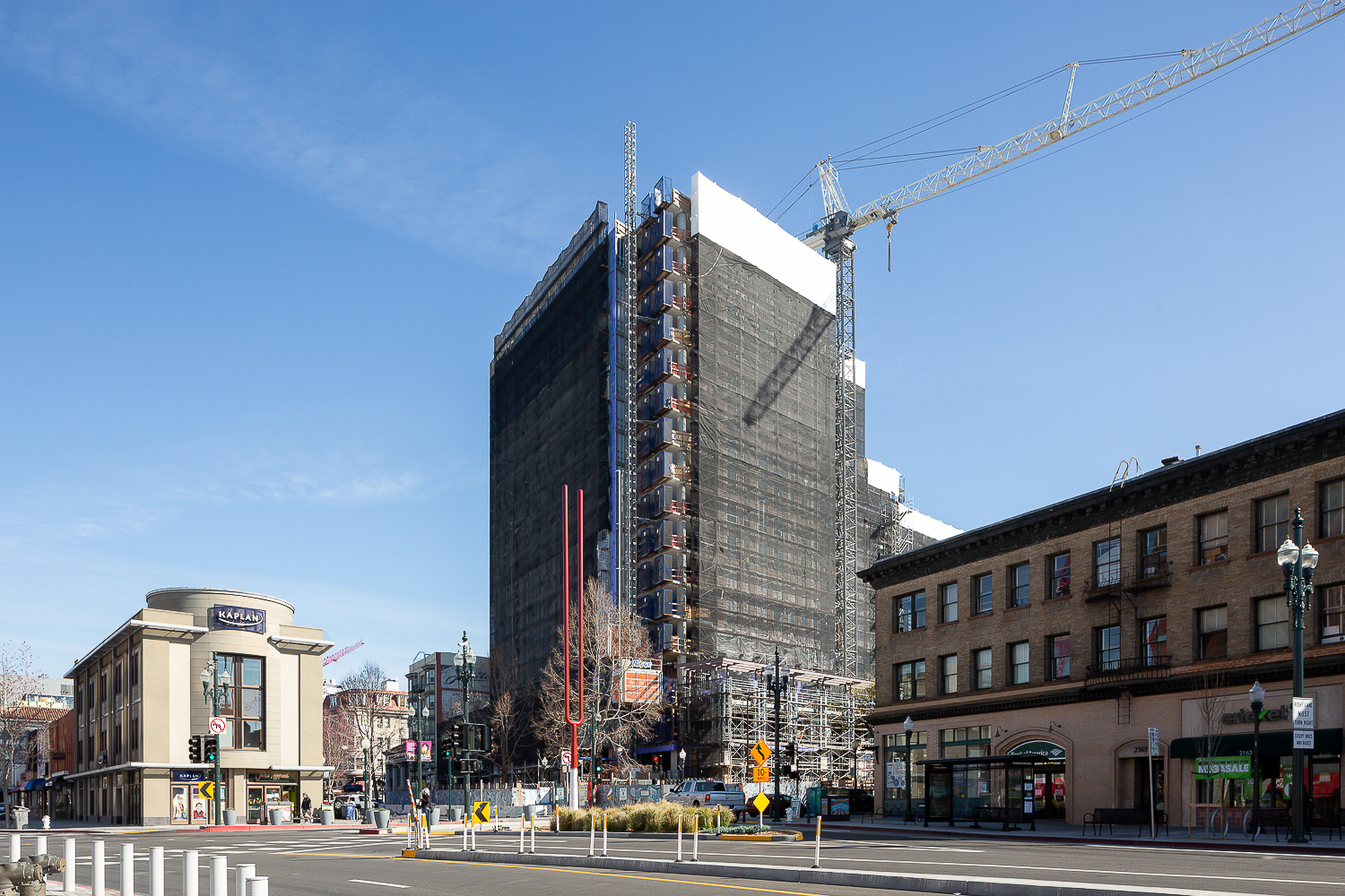 2129 Shattuck Avenue construction update, image by Andrew Campbell Nelson