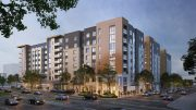 2352 Shattuck Avenue phase one (left) and phase two (right), rendering by Niles Bolton Associates