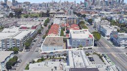 2500-2530 18th Street, image via Google Satellite