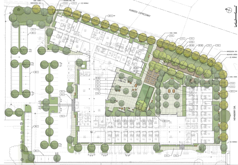 3315 Almaden Expressway floor plan, illustration from JETT Architecture + Design
