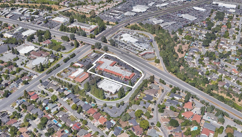 3315 Almaden Expressway, image via Google Satellite